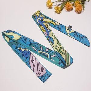 Abstract Art Sash Tie